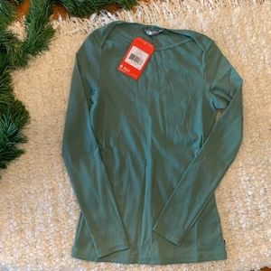 The North Face Long Sleeved Ribbed Top